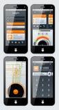 Elementi di Infographics Fotografie Stock