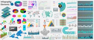 Elementi di infographics dell'attività di raccolta illustrazione vettoriale