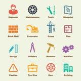 Elementi di ingegneria illustrazione di stock