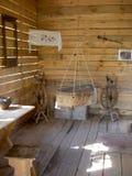 Elementi di legno antichi della famiglia Immagini Stock