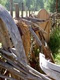 Elementi di legno antichi della famiglia Fotografia Stock Libera da Diritti