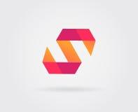 Elementi di Logo Letter Icon Design Template nel vettore Immagini Stock Libere da Diritti