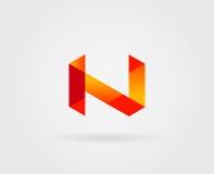 Elementi di Logo Letter Icon Design Template nel vettore Fotografia Stock