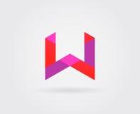 Elementi di Logo Letter Icon Design Template nel vettore Immagini Stock