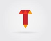 Elementi di Logo Letter Icon Design Template nel vettore Fotografia Stock Libera da Diritti
