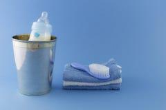 Elementi di lusso del neonato Fotografie Stock