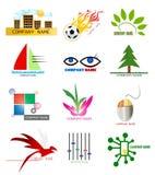 Elementi di marchio Fotografia Stock Libera da Diritti