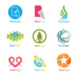 Elementi di marchio Immagine Stock