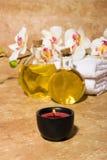 Elementi di massaggio di Bodycare Fotografia Stock Libera da Diritti