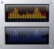 Elementi di musica illustrazione di stock