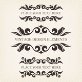 Elementi di progettazione Fotografia Stock