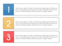 Elementi di progettazione con il posto per il vostro testo Immagini Stock Libere da Diritti