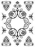 Elementi di progettazione dell'ornamento illustrazione di stock