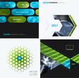 Elementi di progettazione di vettore di affari per la disposizione grafica Sommario moderno Fotografia Stock