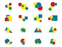 Elementi di progettazione e di logo Immagini Stock Libere da Diritti