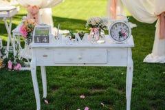 Elementi di progettazione per nozze Fotografie Stock