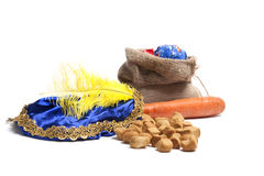 Elementi di Sinterklaas Fotografia Stock