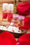 Elementi di terapia dell'aroma fotografia stock