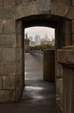 Elementi di vecchio ponte Fotografie Stock