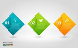 Elementi di vettore per infographic Immagini Stock