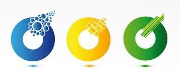 Elementi di Web Immagine Stock