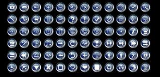 Elementi di Web Immagine Stock Libera da Diritti