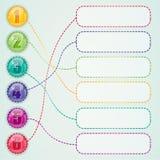 Elementi di web design Immagine Stock Libera da Diritti