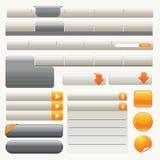 Elementi di Web site Immagini Stock