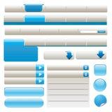 Elementi di Web site Immagine Stock Libera da Diritti