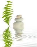 Elementi di zen Immagine Stock