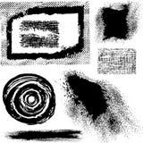 Elementi differenti di Grunge Fotografie Stock Libere da Diritti