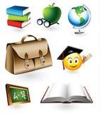 Elementi educativi di vettore Immagini Stock