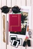 Elementi essenziali di vacanza Fotografia Stock Libera da Diritti