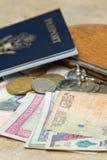 Elementi essenziali di viaggio Immagini Stock Libere da Diritti