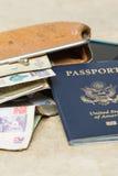 Elementi essenziali di viaggio Immagine Stock Libera da Diritti