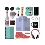 Elementi essenziali di viaggio Immagine Stock