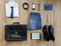 Elementi essenziali moderni di affari Immagini Stock