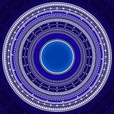 Elementi futuristici complessi Immagini Stock