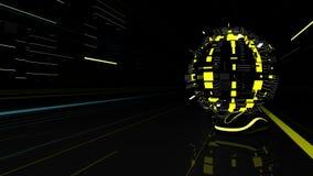 Elementi futuristici di web Fotografie Stock