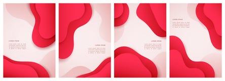 Elementi grafici moderni dell'estratto, per qualsiasi occasione illustrazione di stock