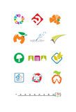 Elementi grafici per il logo 2 Fotografie Stock Libere da Diritti