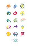 Elementi grafici per il logo Immagini Stock Libere da Diritti