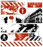 Elementi grafici urbani 1/vettore Fotografia Stock