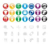 Elementi/icona di disegno Immagine Stock Libera da Diritti