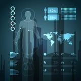 Elementi infographic medici Fotografia Stock Libera da Diritti