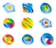 Elementi lucidi di disegno corporativo royalty illustrazione gratis