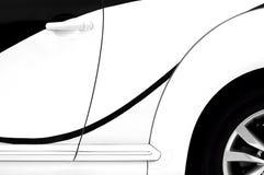Elementi moderni di progettazione dell'automobile Immagine Stock