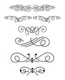 Elementi ornamentali 1 di disegno Fotografia Stock