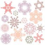 Elementi ornamentali di disegno Fotografie Stock Libere da Diritti