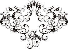 Elementi ornamentali di disegno Immagine Stock